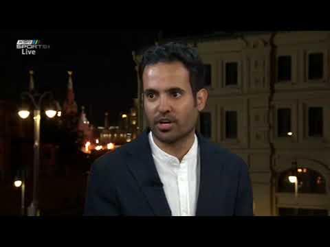 عبدالله الحنيان -  الروح ليست غائبة في المنتخب لاعبينا مميزون ونستعد لآسيا 2019 #المونديال