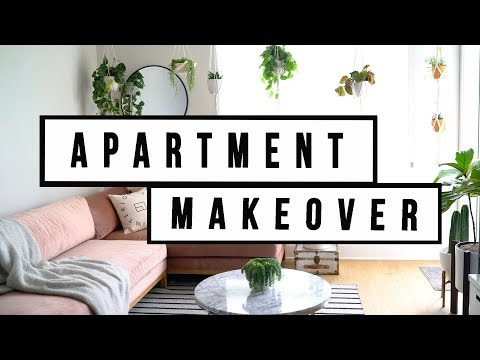 APARTMENT MAKEOVER - LIVING ROOM DECOR | ANN LE