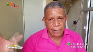 Félix Caraballo, propietario de Lolo Taxi, narra lo sucedido con uno de sus taxistas
