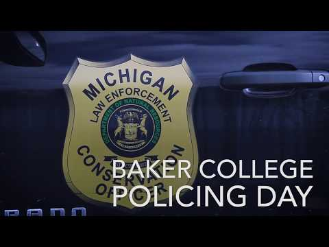 Baker College Policing Day