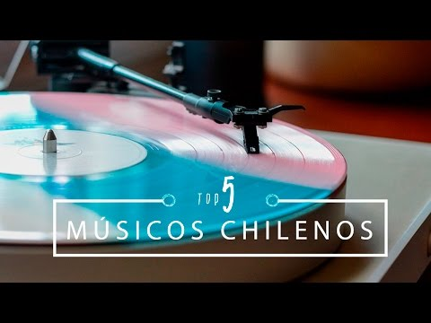 Meus TOP 5 Cantores Chilenos Favoritos | Pigmento F