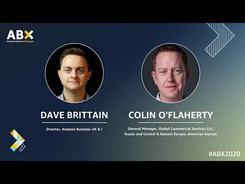 amazon.co.uk & Amazon Promo Codes video: ABX 2020/Day 2/Driving innovation through uncertainty: Fireside chat with American Express