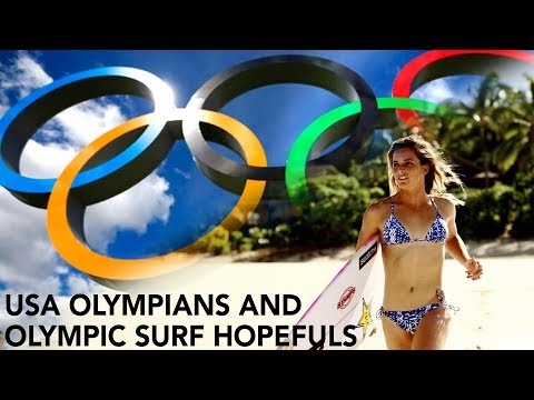 Olympians and Olympic Hopefuls at USA Surf Championships