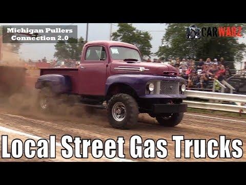 Local Street Gas Truck Class At The TTPA Truck Pulls In Standish Michigan 2018