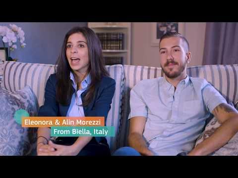 #EUmovers Eleonora en Alin photo