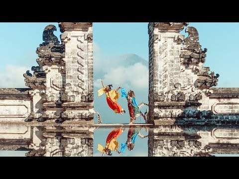 Bali's Gates of Heaven, is it REAL? | BrooklynAndBailey & KamriNoel