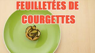 Recettes de cuisine : Minute Cuisine Recette facile de roses feuilletées aux courgettes en vidéo