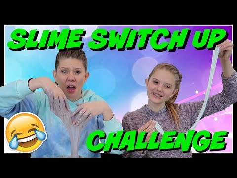 connectYoutube - SLIME SWITCH UP CHALLENGE || Taylor and Vanessa