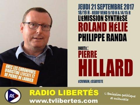 nouvel ordre mondial | Pierre Hillard sur Radio Libertés (21 septembre 2017)