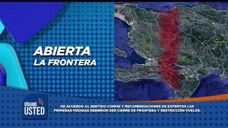 Frontera y aeropuertos abiertos . Así se protege Rep  Dominicana contra el COVID-19