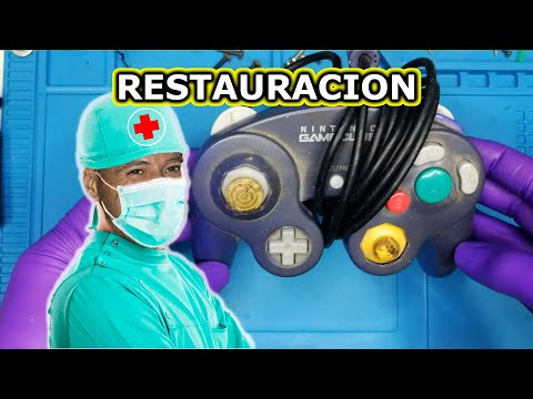 RESTAURACION MANDO GAMECUBE