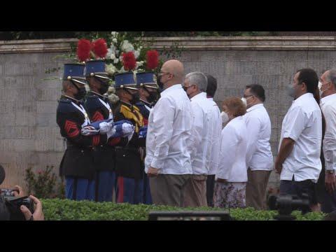Presidente de Honduras encabeza ceremonia conmemorativa a los 200 años de independencia