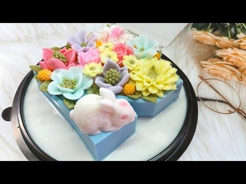 วุ้นแฟนซี-สอนทำเค้กวุ้นวันเกิด