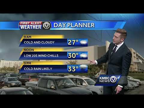 First Alert: Freezing drizzle to start, rain likely for the evening