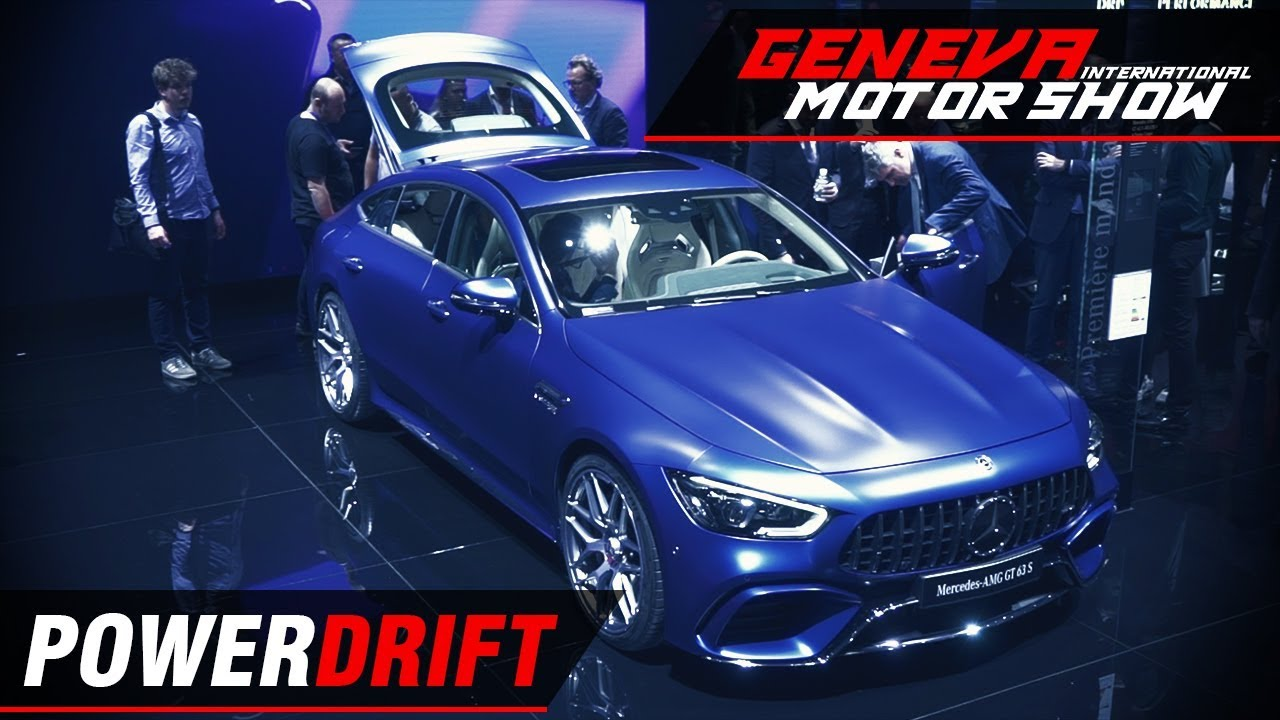 Mercedes AMG GT 4 Door Coupe - The 629 BHP family car : Geneva Motor Show 2018 : PowerDrift