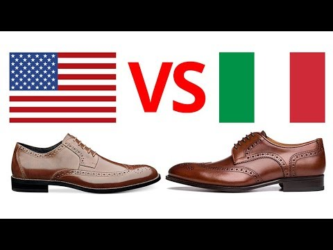 Italian vs American | Which Dress Shoes Are Superior?