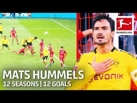 Mats Hummels - 12 Seasons 12 Goals | New Bundesliga Goal Record