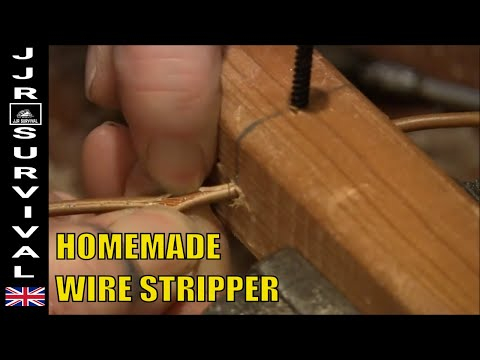 HOW TO MAKE A WIRE STRIPPER