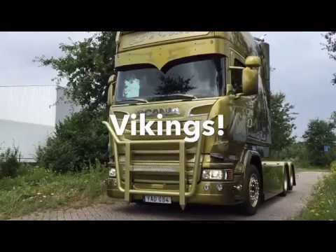 Vikings The new Berthons Scania R580 Topline