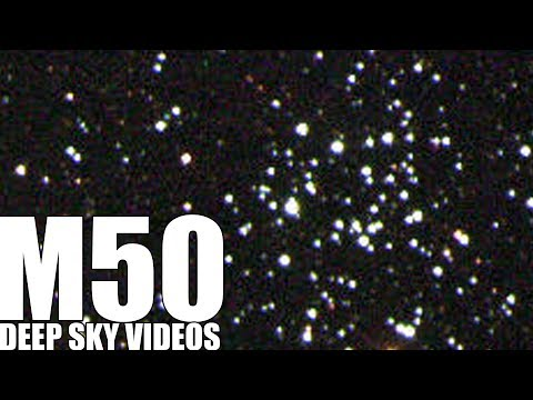 Spinning Stars and Messier 50 - Deep Sky Videos