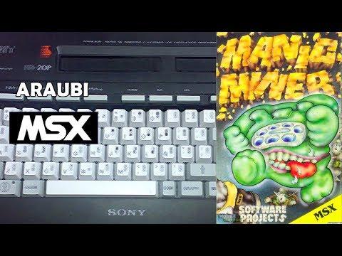 Manic Miner (Software Projects, 1984) MSX [070] El Kiosko