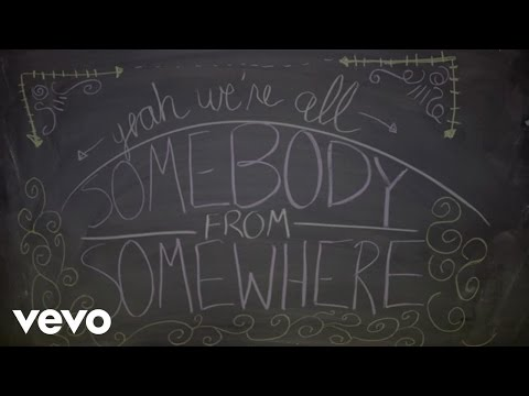 Steven Tyler - We're All Somebody From Somewhere (Lyric Video)
