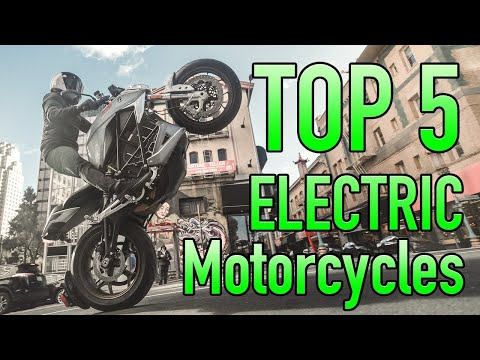 Top 5 Electric Motorcycles of 2019 (& Book Launch!)