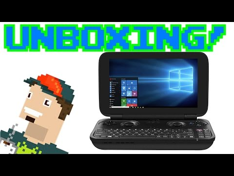 UNBOXING GPD WIN || Consola Portátil con Windows 10!