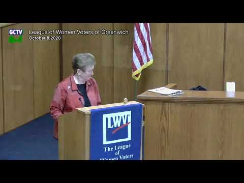 League of Women Voters Candidate Debates, October 8, 2020