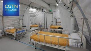 Las autoridades aceleran la instalación de al menos cinco hospitales modulares