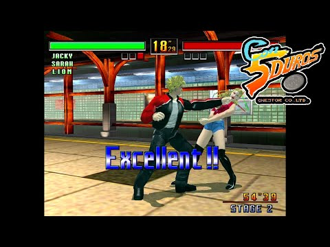 "VIRTUA FIGHTER 3 TEAM BATTLE  - ""CON 5 DUROS"" Episodio 833 (+ver Dreamcast) (1cc) (CTR)"