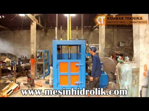 Mesin Press Drum  Hidrolik