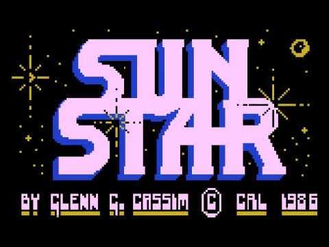 Sun Star para computadoras Atari XL/XE