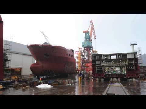 Shipbuilding at Kleven Verft - buildno. 381