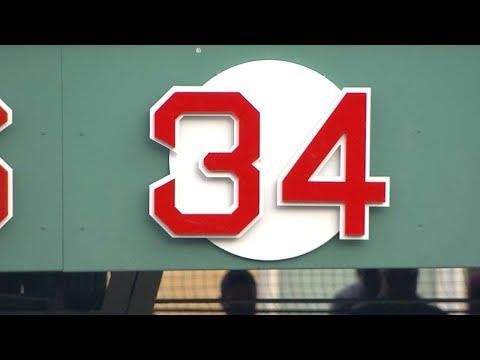 LAA@BOS: David Ortiz's number is unveiled