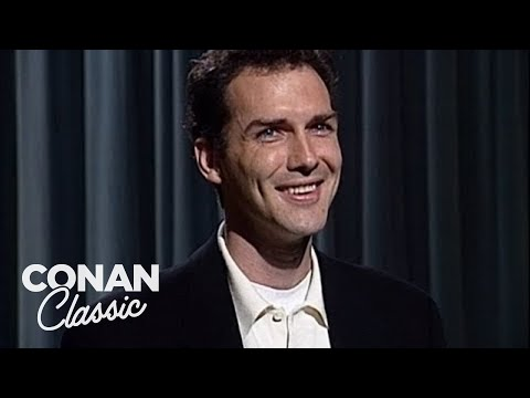 """Norm Macdonald Stand-Up - """"Late Night With Conan O'Brien"""" 10/19/93"""