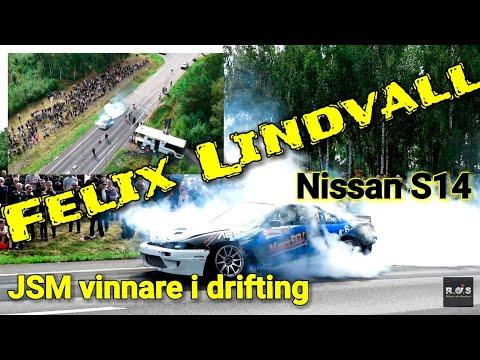 Drifting vinnaren Felix Lindvall bjuder upp till show!