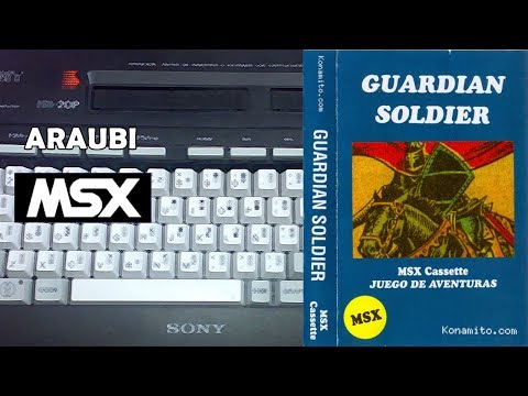 Guardian Soldier (Jon Cortazar, 2011) MSX [217] Walkthrough