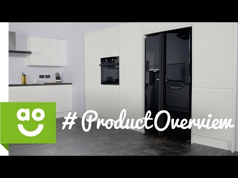 Leisure American Fridge Freezer PAS241MB Product Overview | ao.com