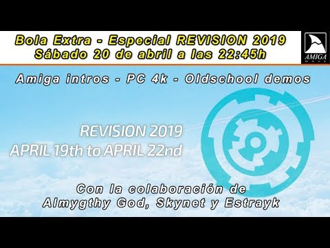 Especial REVISION 2019 - Amiga Intros, PC 4k y OldSchool demos.
