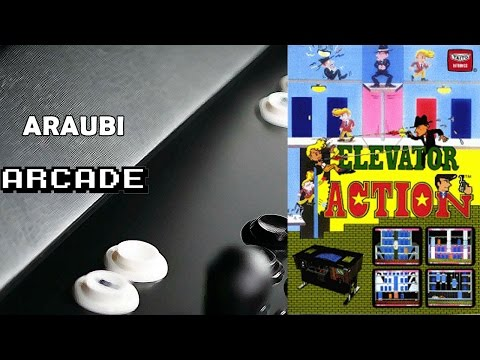 Elevator Action (Taito, 1983) Arcade [047] Walkthrough Comentado