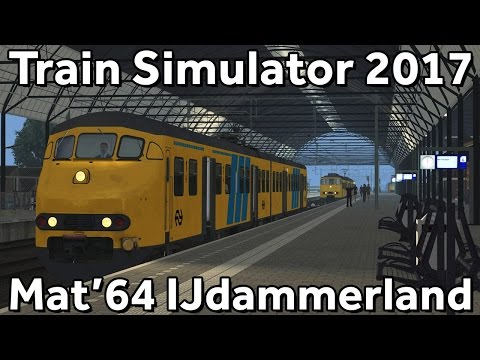 Train Simulator 2017: ChrisTrains NS Mat'64 op 't IJdammerland (Kolfmeer - Vaalem)
