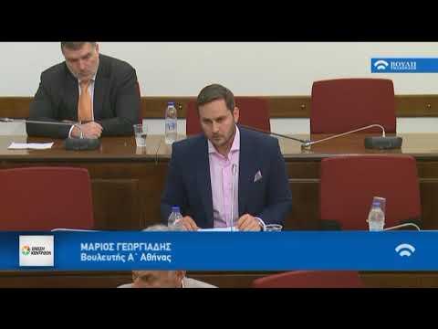 Μ. Γεωργιάδης / Επιτροπή Θεσμών και Διαφάνειας (απογ) / 17-5-2018