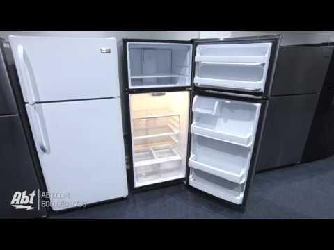 GE Top Freezer Refrigerator GTE18GSHSS Tour