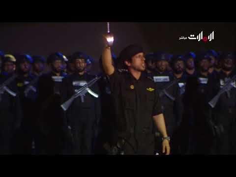 فقرة أداء لفن العازي I مراسم احتفالات مرور 60 عاماً على تأسيس شرطة أبوظبي.