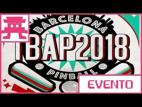 Torneo Pinball Barcelona TBAP 2018
