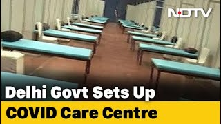 Delhi's CWG Stadium Converted To COVID-19 Care Centre With 600 Beds - NDTV