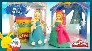 Reine des neiges - Pâte à modeler Play-doh en français - Jouet MagiClip -Titounis