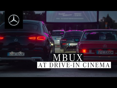 At the Drive-In Cinema with MBUX and the New GLE Coupé