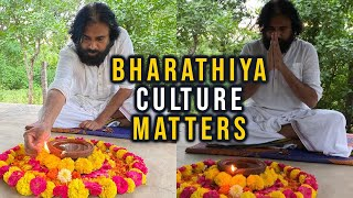 Pawan Kalyan Light a Lamp Against Antarvedi Chariot Incident |  #BharathiyaCultureMatters - TFPC